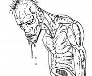 Coloriage et dessins gratuit Zombie en ligne à imprimer