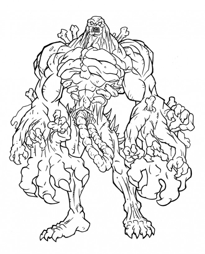 walking with monsters coloring pages - photo#36