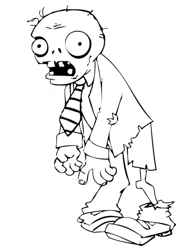 Coloriage Zombie Qui Fait Peur Dessin Gratuit 224 Imprimer