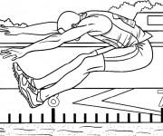 Coloriage dessin  Athletisme 10
