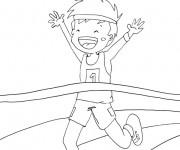 Coloriage dessin  Athletisme 14