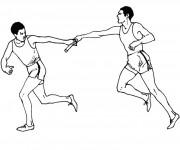 Coloriage dessin  Athletisme 2