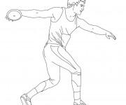 Coloriage dessin  Athletisme 9