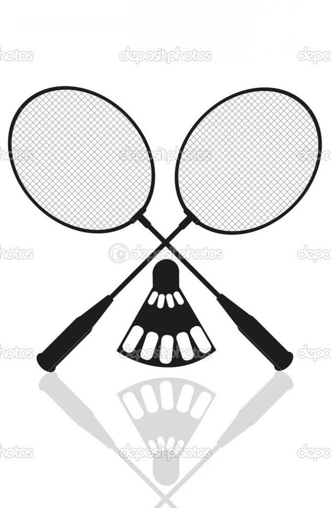 Coloriage et dessins gratuits Badminton et Équipements à imprimer