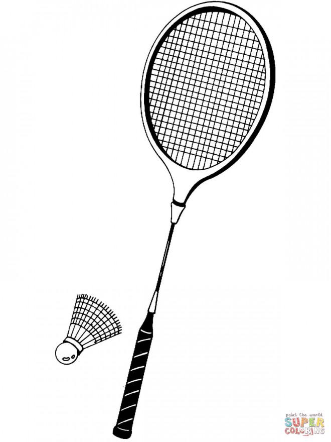 Raquette de badminton free raquette badminton raquette - Raquette dessin ...