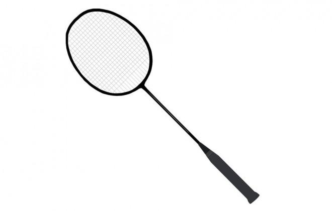 Coloriage et dessins gratuits Raquette de Badminton simple à imprimer