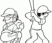 Coloriage dessin  Baseball 10