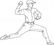 Coloriage dessin  Baseball 16