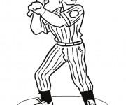 Coloriage dessin  Baseball 19