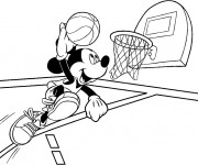 Coloriage dessin  Basketball 29