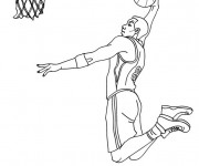 Coloriage dessin  Basketball 4
