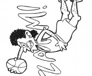 Coloriage dessin  Basketball 51