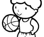 Coloriage dessin  Basketball 59
