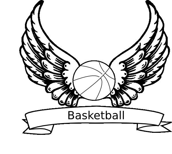 Coloriage et dessins gratuits Basketball en ailes à imprimer