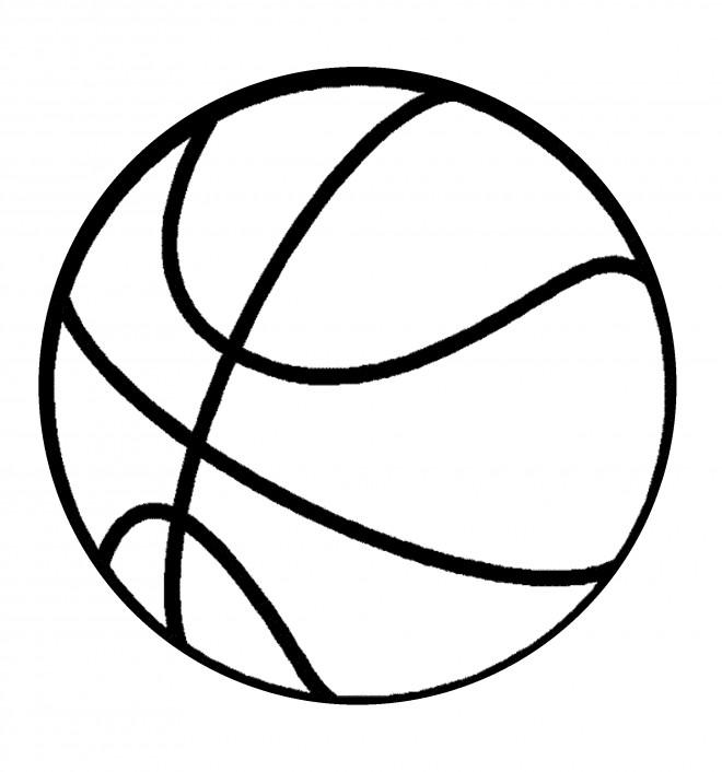 Coloriage et dessins gratuits Basketball en couleur à imprimer