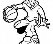 Coloriage Basketball spécial
