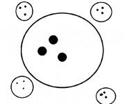 Coloriage et dessins gratuit Ballon Bowling à imprimer
