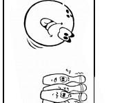 Coloriage dessin  Bowling 11