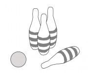 Coloriage dessin  Bowling 18
