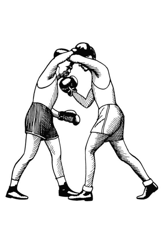 Coloriage boxe en couleur dessin gratuit imprimer - Coloriage boxer ...