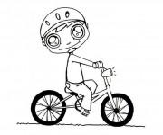 Coloriage dessin  Cyclisme 11