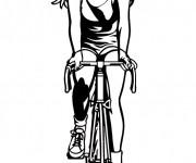 Coloriage dessin  Cyclisme 12