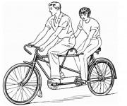 Coloriage dessin  Cyclisme 17