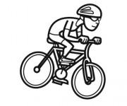 Coloriage dessin  Cyclisme 6