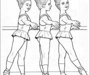 Coloriage dessin  Danse 15