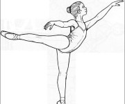 Coloriage dessin  Danse 20