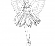 Coloriage dessin  Danse 3