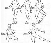 Coloriage Danse Ballet Battement Fondu