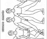 Coloriage Danse Ballet Glissade Changée