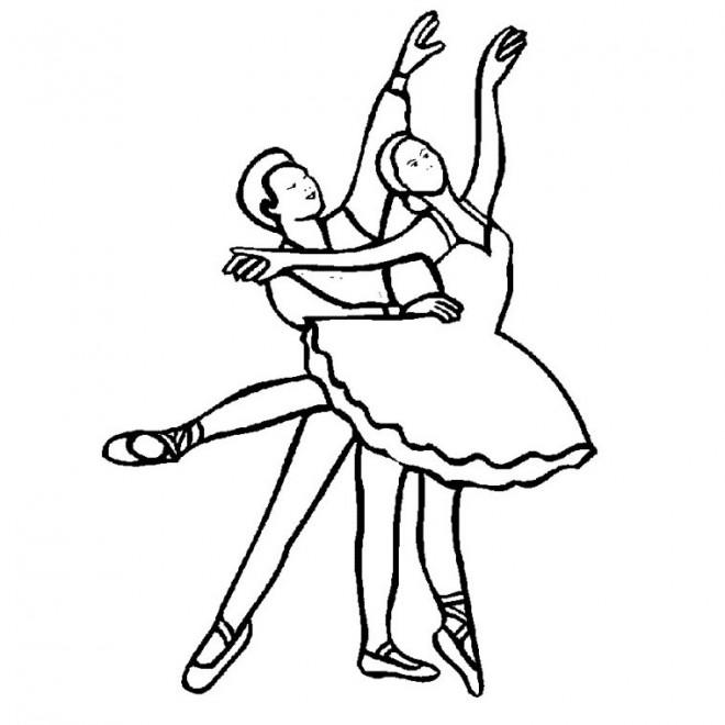 Coloriage Danseuse De Ballet.Coloriage Danse Classique Dessin Gratuit A Imprimer