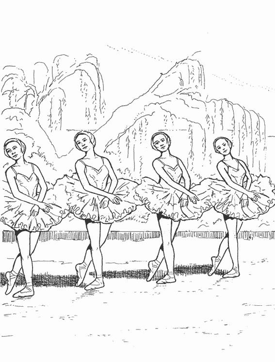 Coloriage Danseuse Gratuit Imprimer.Coloriage Danse Classique Facile Dessin Gratuit A Imprimer