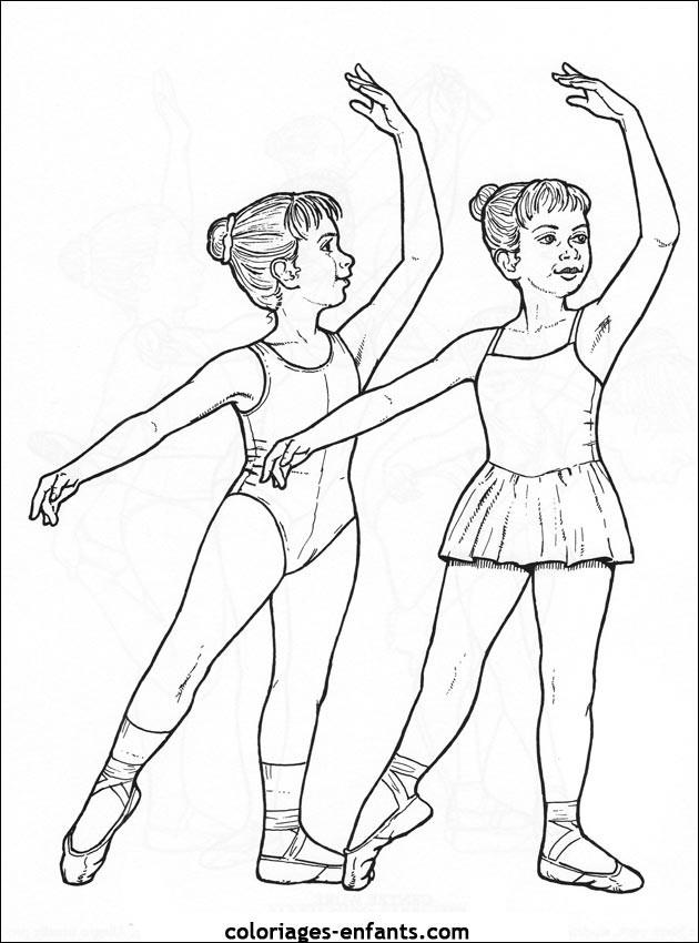 Coloriage Danseuse Classique Ballet Dessin Gratuit A Imprimer