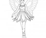 Coloriage et dessins gratuit Danseuse vecteur à imprimer