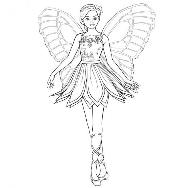 Coloriage et dessins gratuits Danseuse vecteur à imprimer