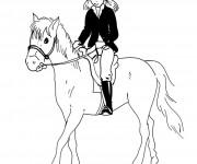 Dessiner en ligne vos coloriages préférés de Equitation