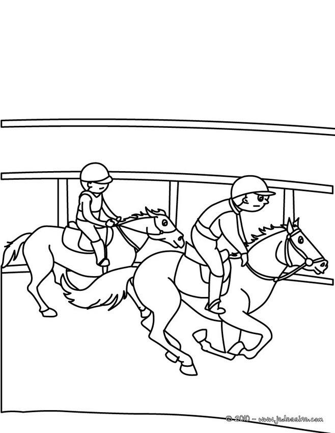 Coloriage equitation 81 dessin gratuit imprimer - Coloriage equitation ...