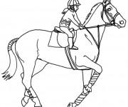 Coloriage equitation gratuit imprimer liste 20 40 - Coloriage equitation ...