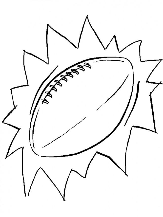 Coloriage Ballon De Rugby.Coloriage Ballon Rugby Couleur Dessin Gratuit A Imprimer