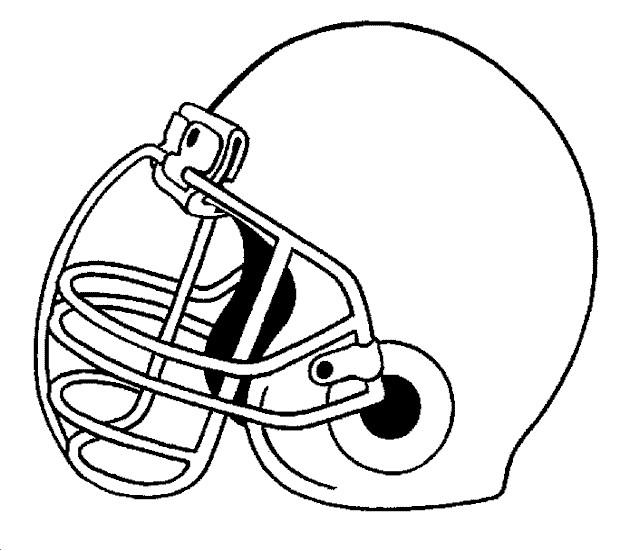 Coloriage et dessins gratuits Casque de Football américain à imprimer