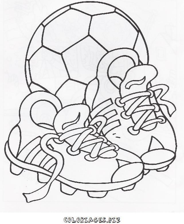 Nike De 4jq53racl Foot Coloriage Chaussure E9WID2H