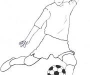 Coloriage dessin  Football 15