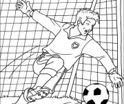 Coloriage dessin  Football 17