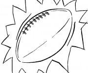 Coloriage dessin  Football 18