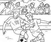 Coloriage dessin  Football 19