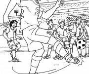 Coloriage dessin  Football 20