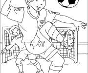 Coloriage dessin  Football 4